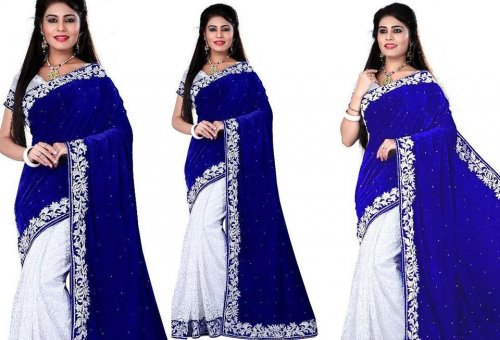 Weight Less Georgette saree SS-365