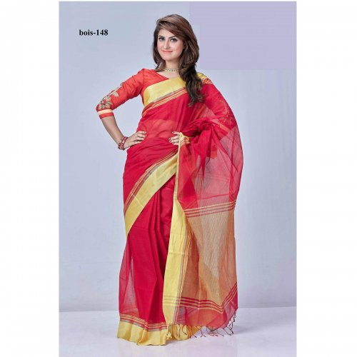 tat cotton saree bois-148