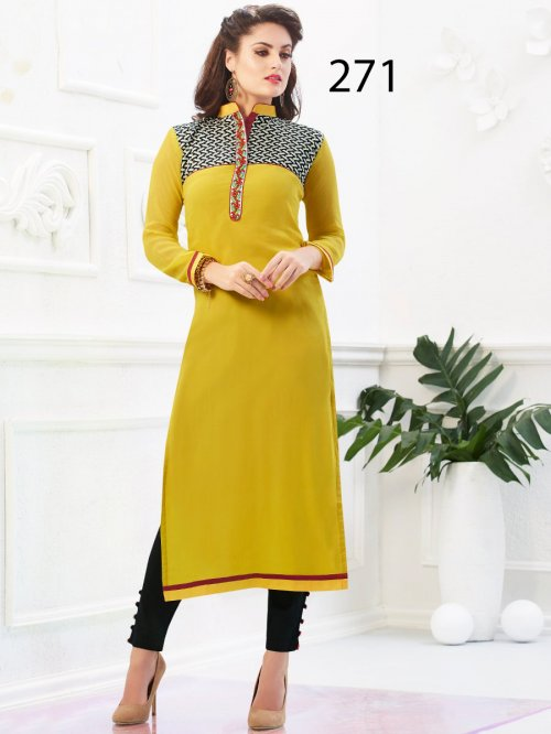 Latest Designers Kurti party wear ladies salwar suits 271