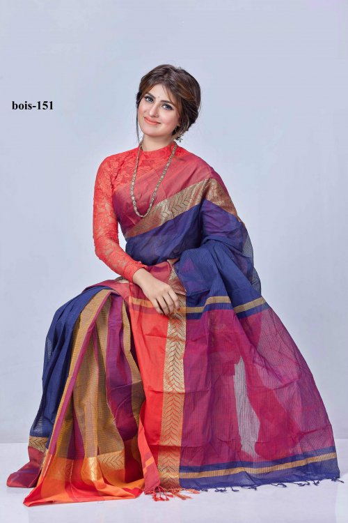 tat cotton saree bois-151