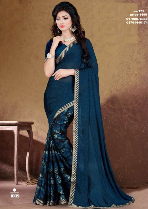 Indian Soft Georgette Saree se-171