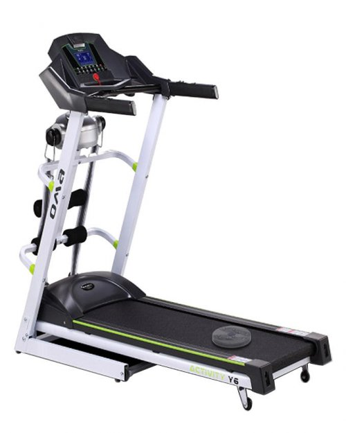 Oma Fitness Full Motorized Multi Function Treadmill Black