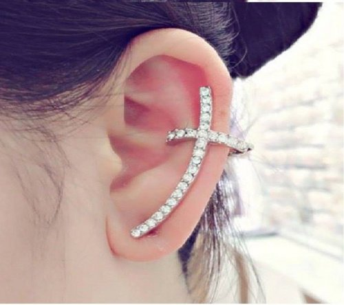 crystal ear ring 8