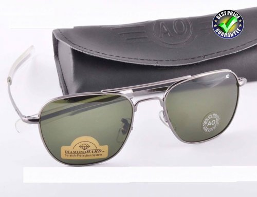 American Optical Diamond Gun Metal Sunglass SW4001