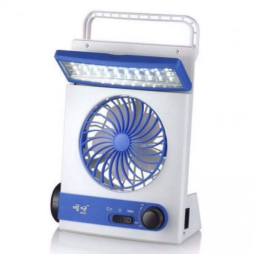 3 in 1 multifunctional rechargeable fan