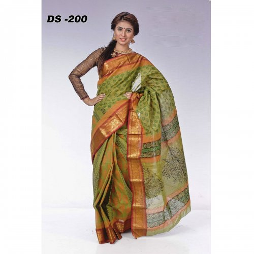Tangail Cotton Butics saree