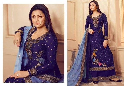 Georgette Embroidery Salwer Suit Kameez For Women
