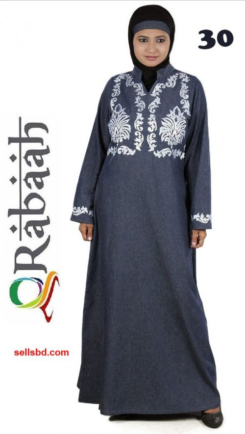 Fashionable muslim dress islamic clothing Rabaah Abaya Burka borka 30