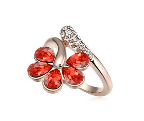 AUSTRALIAN Red-Flower Finger Ring