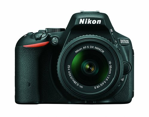 Nikon D5500 with 18-55mm VR II kit lens