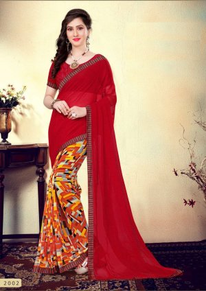 Indian Soft georgette Saree se-501