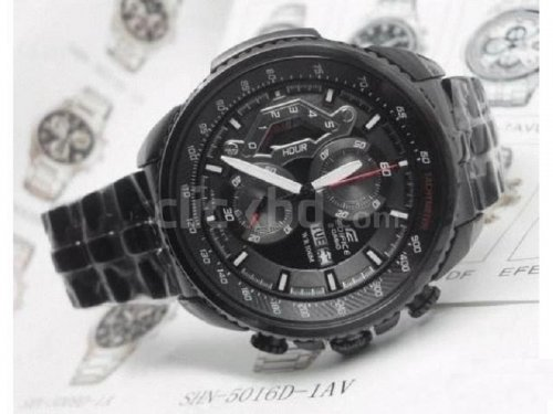 CASIO EDIFICE watch EF 558 BK