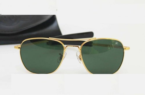 Ray Ban Gents Pilot Golden Sunglass Replica SW4042