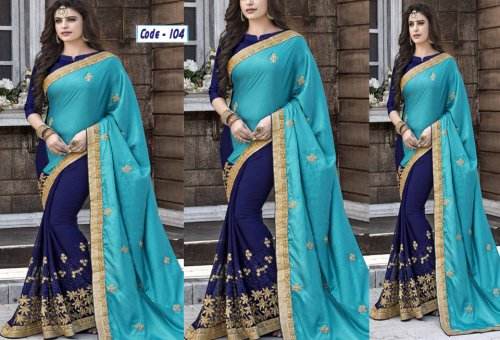Weight Less Georgette saree Hp-104