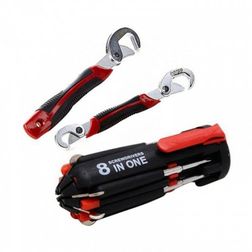 Combo Snap Grip and 8 in 1 Portable Screwdriver