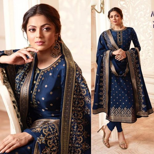 LT NITYA VOL 156 DOLA SILK DESIGNER PARTY WEAR SALWAR SUIT