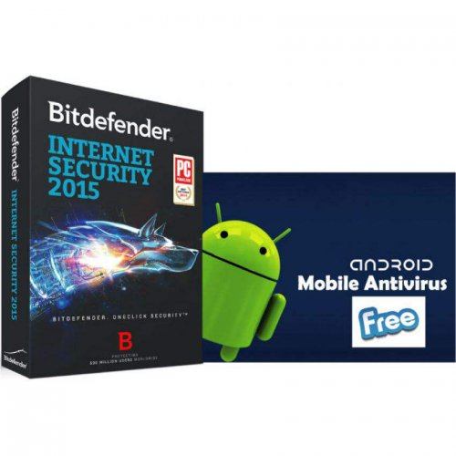 Bitdefender Internet Security 3 User with Free Android Security