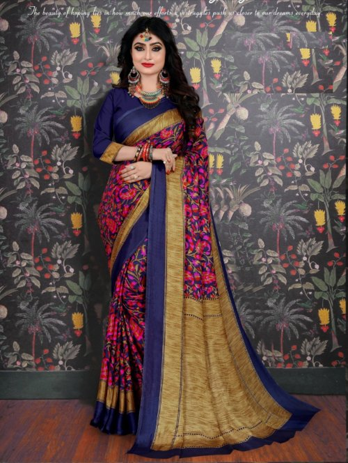 Soft Silk saree se-703