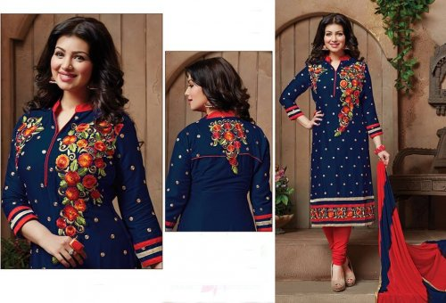 Embroidered salwar kameez S-386