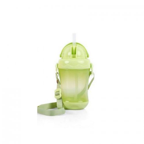 Baby's Straw Cup Plastic Leak-proof Water Bottle