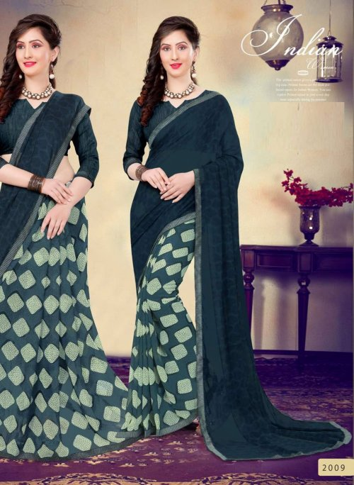 Indian Soft georgette Saree se-506
