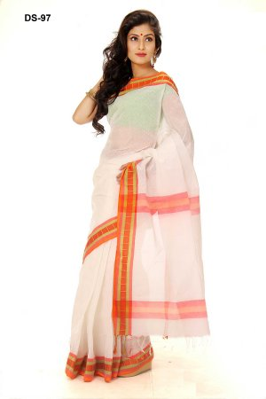 Boishakhi tat cotton Saree Bois-97