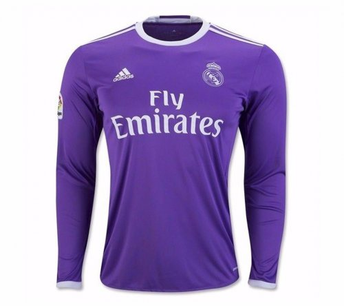 real madrid away full sleeve jersey2016 2017
