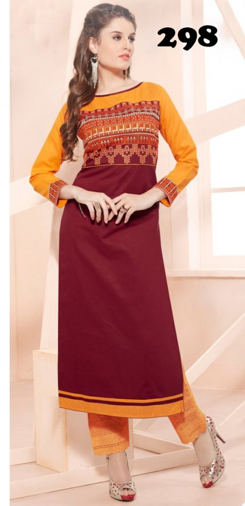Latest Designers Kurti party wear ladies salwar suits 298