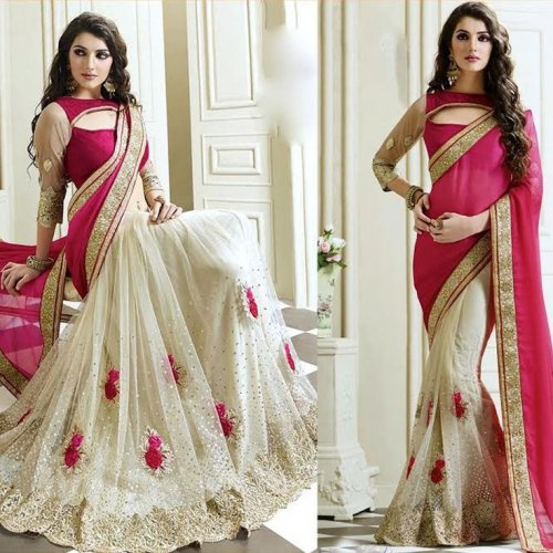Weight Less Georgette saree SS-582