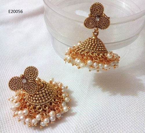 Gold Plated jewelry ornaments Earrings E-20056