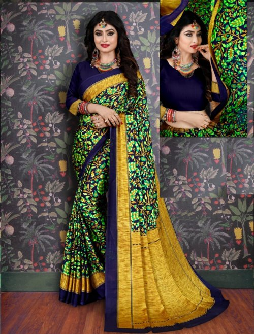 Soft Silk saree se-715
