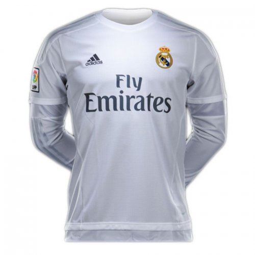 Real Madrid Home Full Sleeve Jersey 2015-16