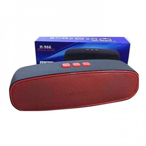 """H-966 Outdoor Audio Mini portable wireless Bluetooth speaker ( Red )"