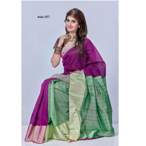 Tossor Silk saree bois-157