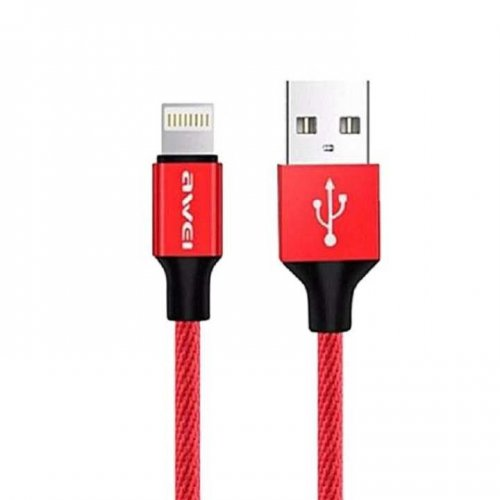 """CL-60 1M Lightning Data Cable For iphone - Black and Red """