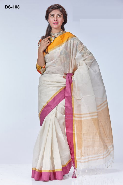 tat cotton saree ds-108
