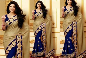 Weight Less Georgette saree SS-371