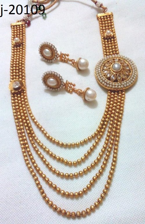 Gold Plated jewelry ornaments Jewellery Set j-20109