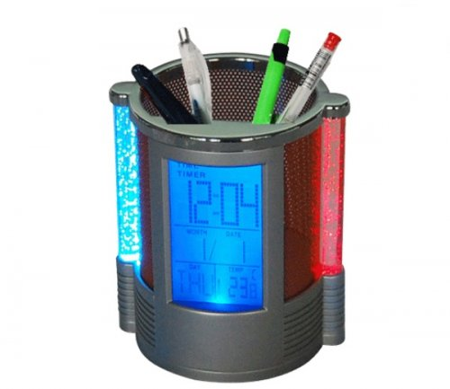 Digital Pen Holder Squere & watch