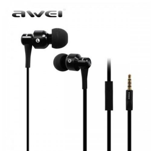 Awei Super Bass Earphones & Mic ES-500i