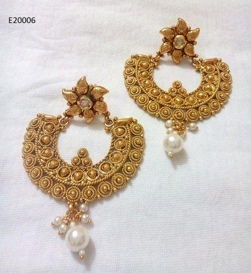 Gold Plated jewelry ornaments Earrings E-20006
