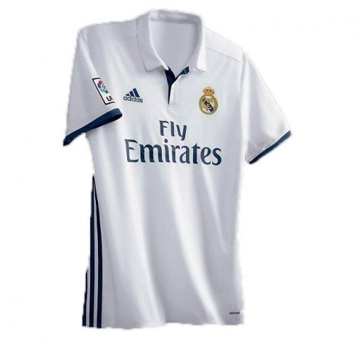 Real Madrid Home Jersey Half 16 and 17 fae508428