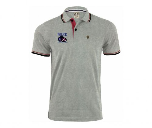 police mens polo shirt 2
