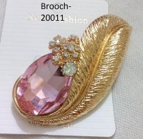 Gold Plated Brooches