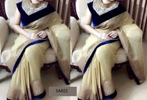 Weight Less Georgette saree SS-05