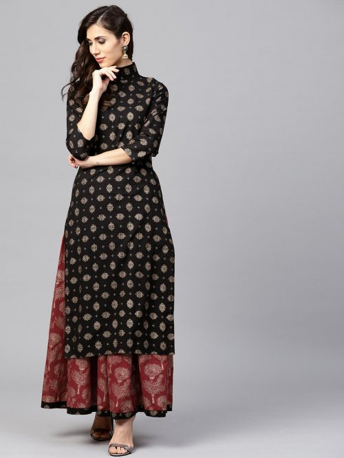 Latest Block Printed 2 pieces Salwar Kameez for Women