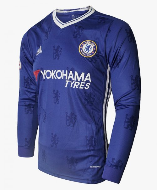 CHELSEA 2016-17 HOME KIT ADIDAS FULL SLEEVE REPLICA JERSEY