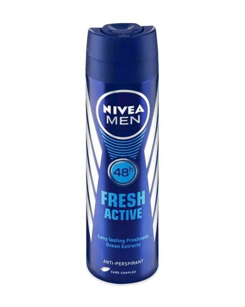 Nivea Men Fresh Active Deodorant - 150ml RCN- 151