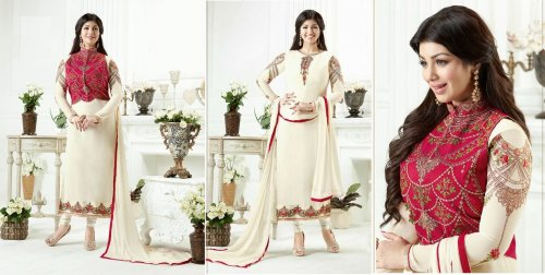 embroidery koti style dress salwar kameez
