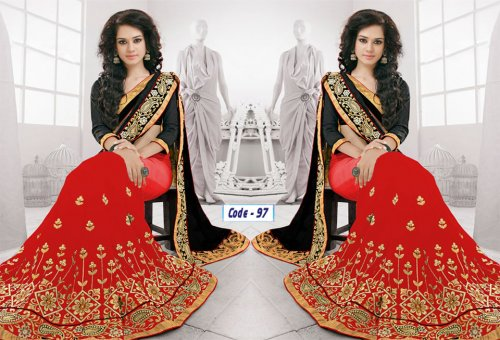 Weight Less Georgette saree Hp-97